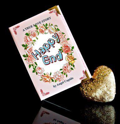 Happy End Book Clutch - Weil Jedes Ende auch ein Anfang ist...