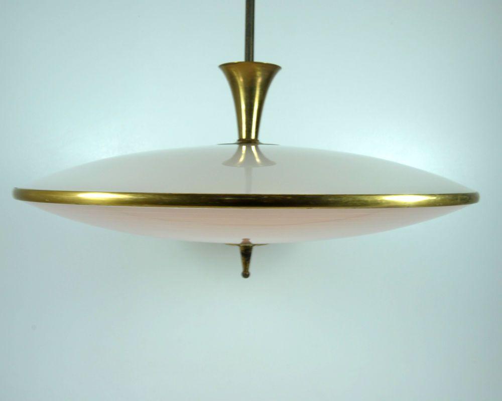 lampadario in ottone pendenti vetri goccia vintage anni 50. Polirane Barikada Disk Lampadario Vintage Anni 60 Amazon Rjenterprisere Com