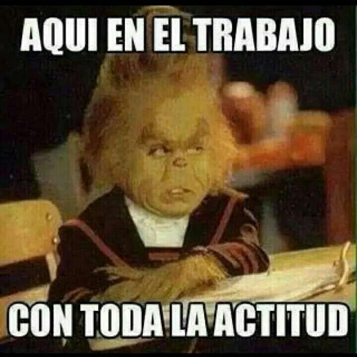 Actitud. ..