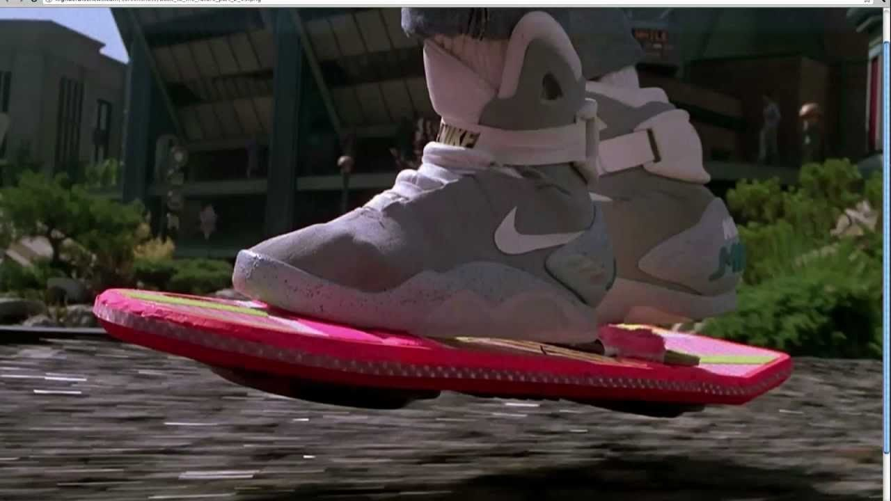 Nike S Back To The Future Air Mag Sneakers Are Finally Here