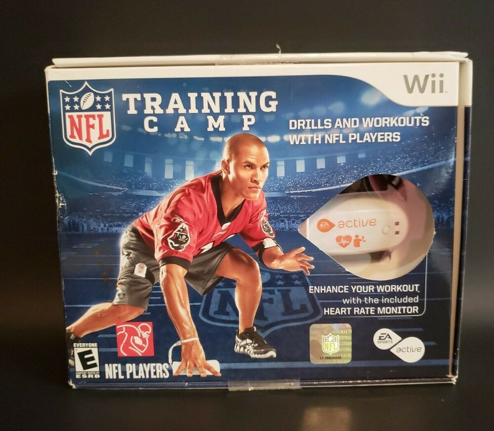 EA Sports Active NFL Training Camp Video Game (Nintendo