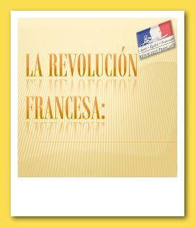 La Revolución Francesa relatada en diapositivas
