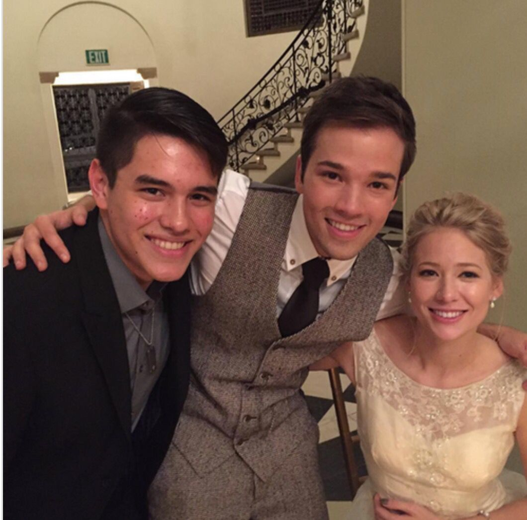 Nathan And London Kress Wedding Cute Actors Nathan Kress Actors
