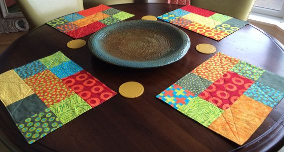 Set+of+6+MoDeRn+Placemats+for+the+Holidays+by+QuiltMix+on+Etsy