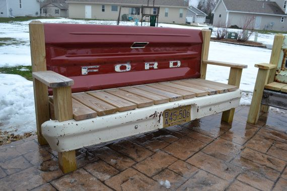 Ford Tailgate Bench With Bumper Tailgate Bench Truck Tailgate Bench Bench