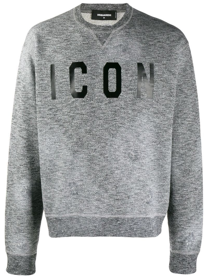 Dsquared2 T Shirts Dsquared2 Icon Sweatshirt Grey Dsquared2 T Shirts Sweatshirts Grey Sweatshirt Dsquared2 [ 1067 x 800 Pixel ]