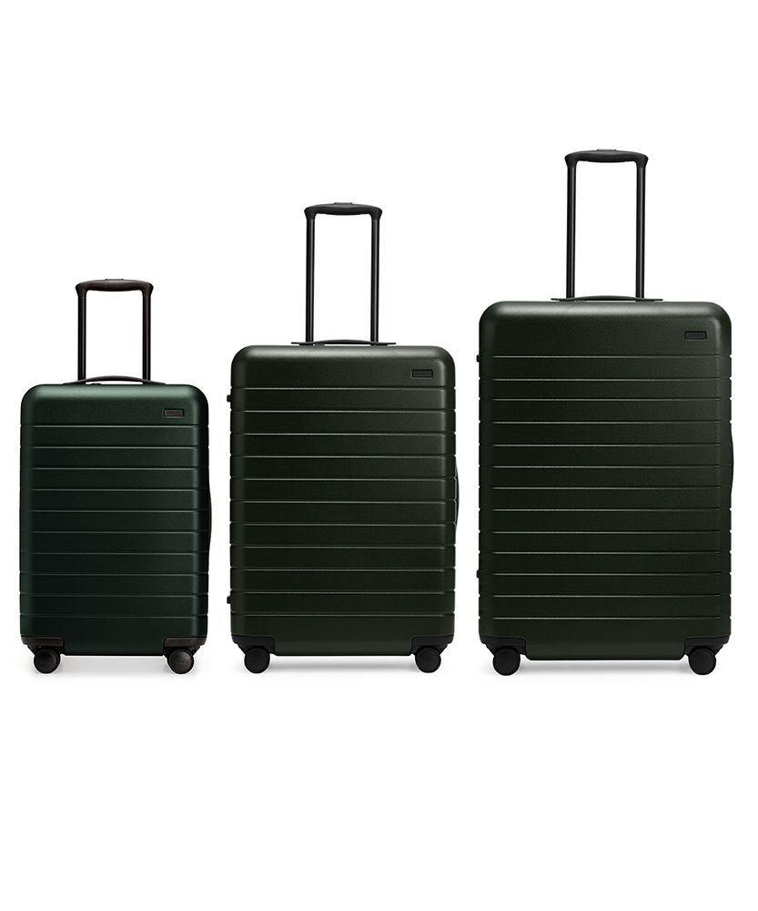 The perfect carry-on, sized up. Unbreakable, thoughtfully designed, and guaranteed for life. Made to fit the sizers of major US airlines, ideal for those flying on big planes and/or with extra outfits. <br /> <br />
