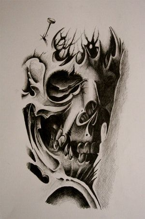 Pin By Tanya On Wow Skulls Drawing Skull Tattoo Design Skull Tattoo