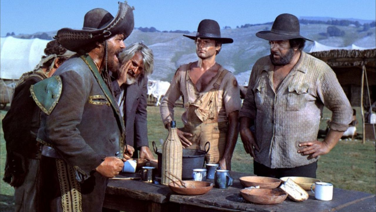 Filmes Bud Spencer E Terence Hill Dublado pertaining to lo chiamavano trinità - enzo barboni (1970) | bud spencer a