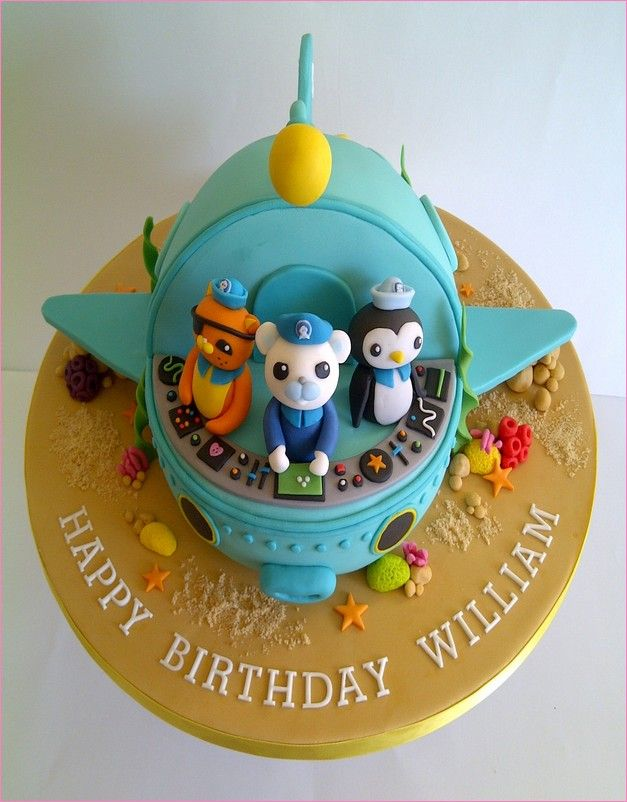 octonauts birthday cake ideas - Google Search (With images ...