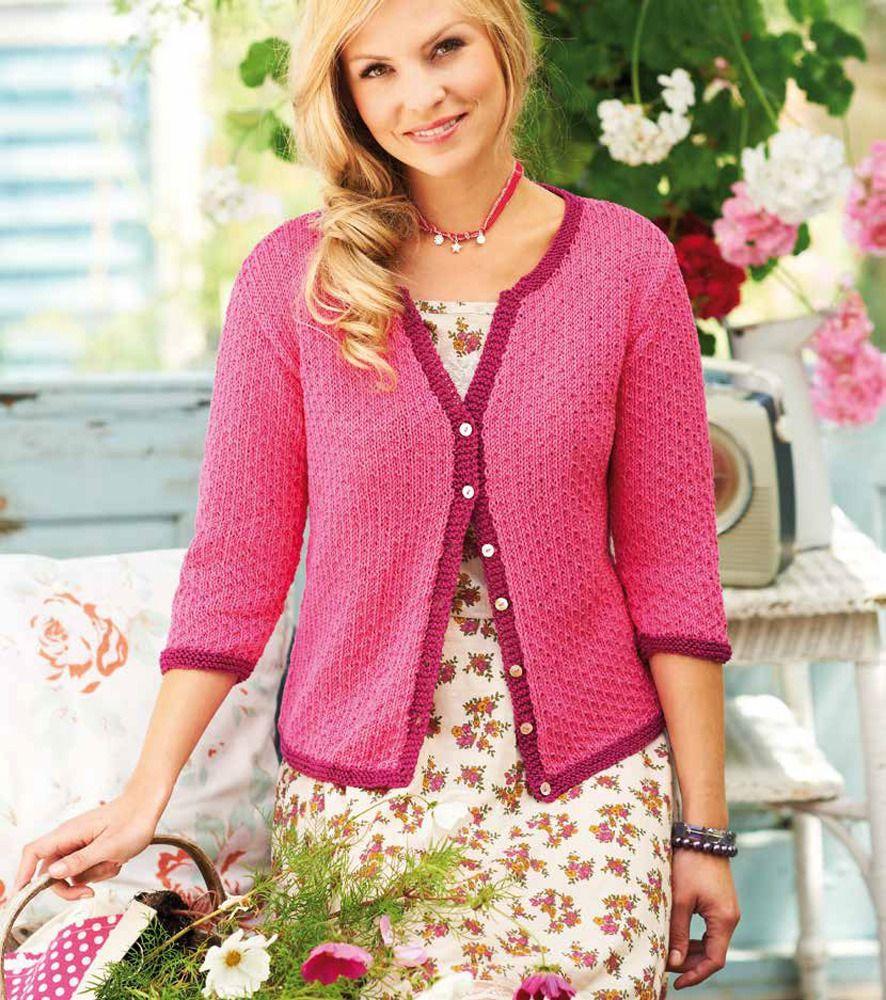 Ladies' Cardigan in Rico Essentials Cotton DK - 155 | ladies ...