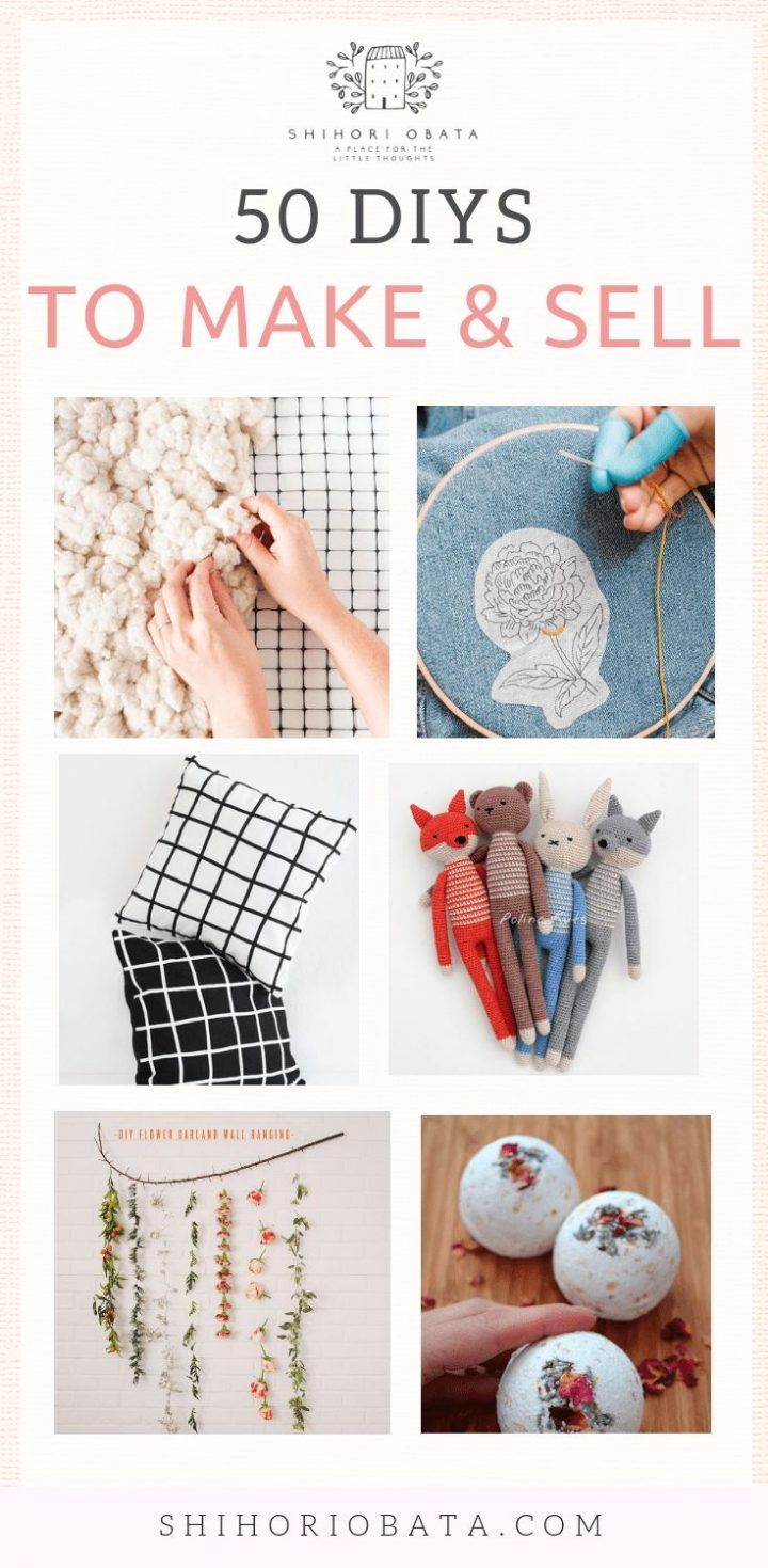 13+ Crafts for adults to make and sell ideas
