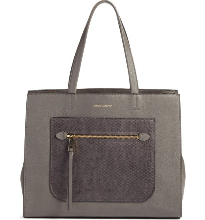 Main Image - Vince Camuto Elvan Leather Tote (Nordstrom Exclusive)