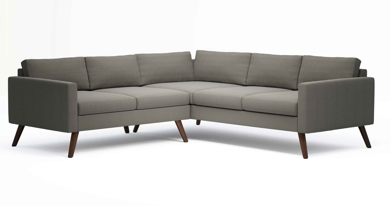 "TrueModern™ Dane 94"" x 94"" Corner Sectional Sofa"