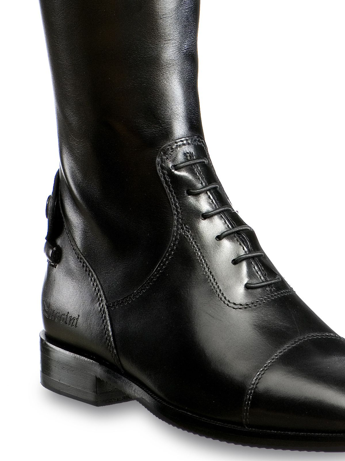 Tucci PAGANINI riding boots zip detail. Luxury Italian shoes ...