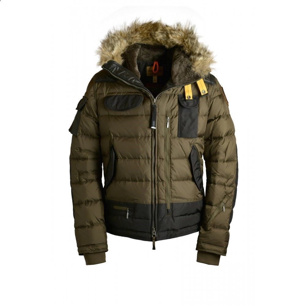 Parajumpers Third Skimaster Mens Ski Jacket in Army