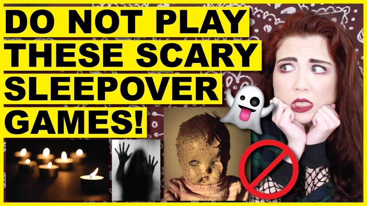 Scary Sleepover Games | Scary For Kids