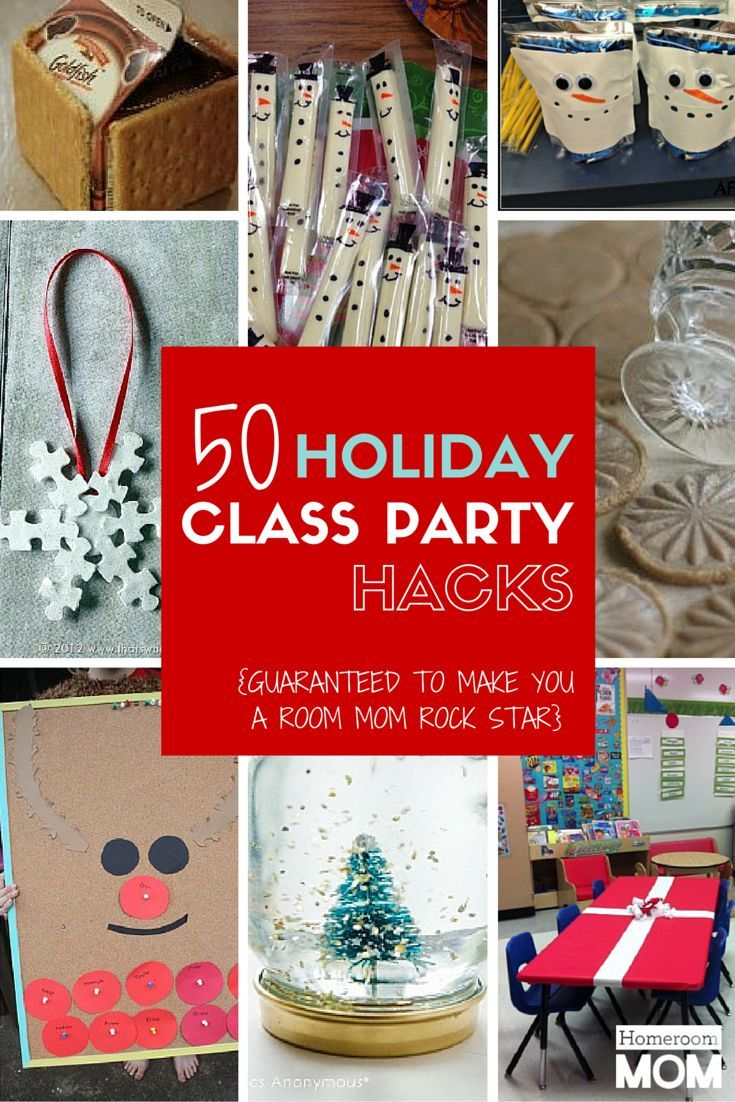Christmas Party Ideas For Preschoolers Part - 44: Holiday Class Party Hacks For Room Parents | Homeroom Mom