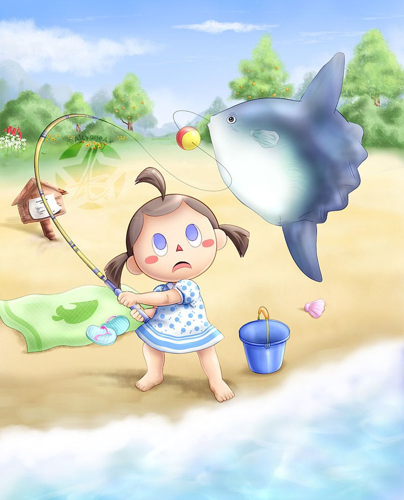 13+ How to catch big fish in animal crossing images