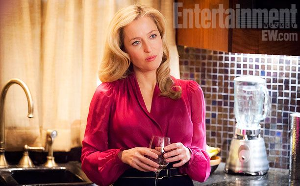 Gillian Anderson on Hannibal first look photo