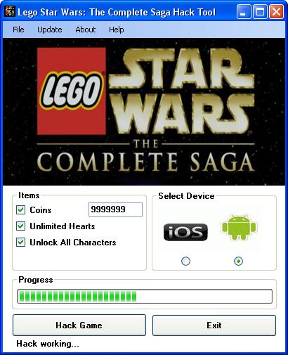 http www hackspedia com lego star wars android ios hacked cheats