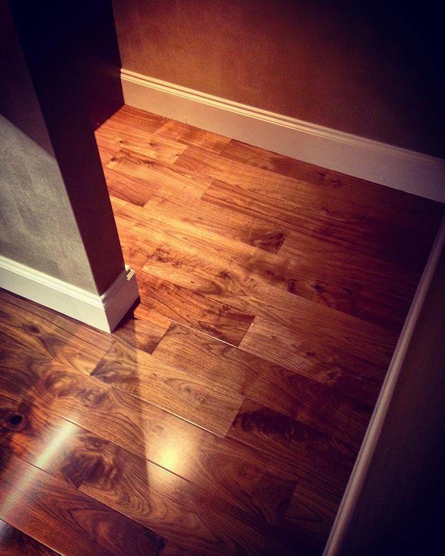 Instagram Photo By The Wooden Floor Store Jun 2 2016 At 8 32pm Utc Walnut Floors Wooden Flooring Parquet Design