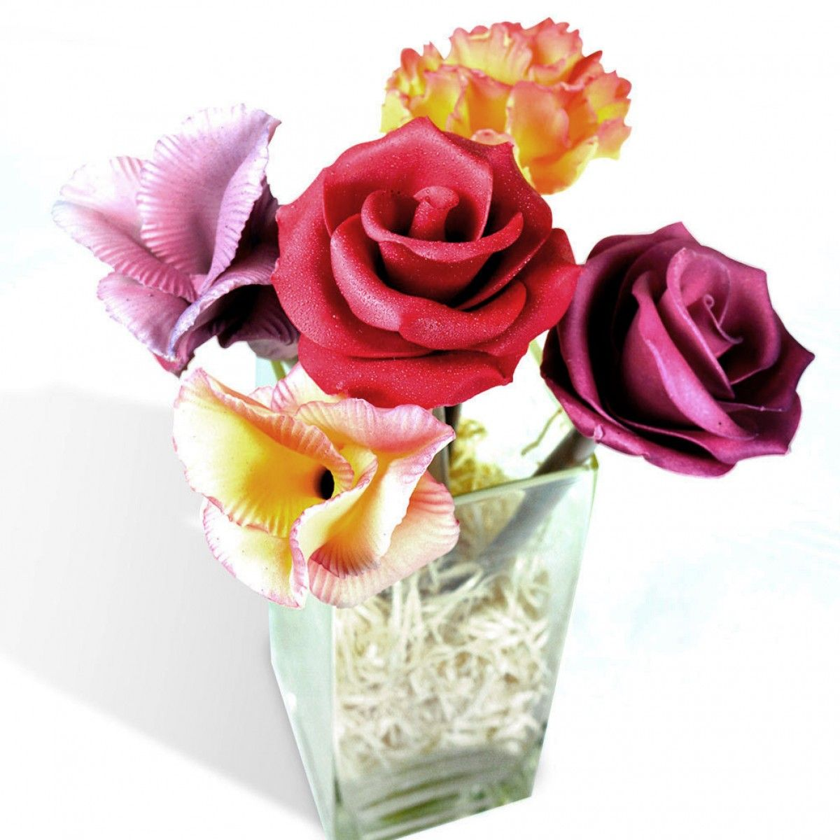 Valentine Hamper Gift Ideas For Her These Flowers Are Made Entirely