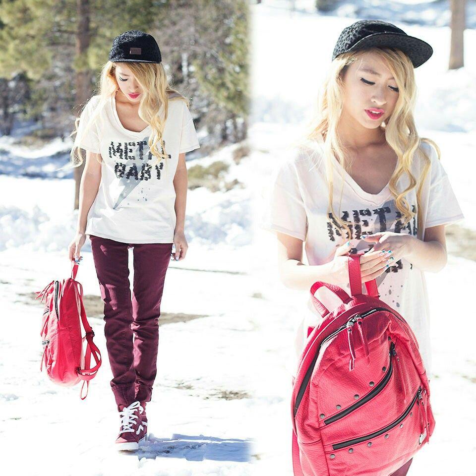 maroon vans sk8 hi outfit