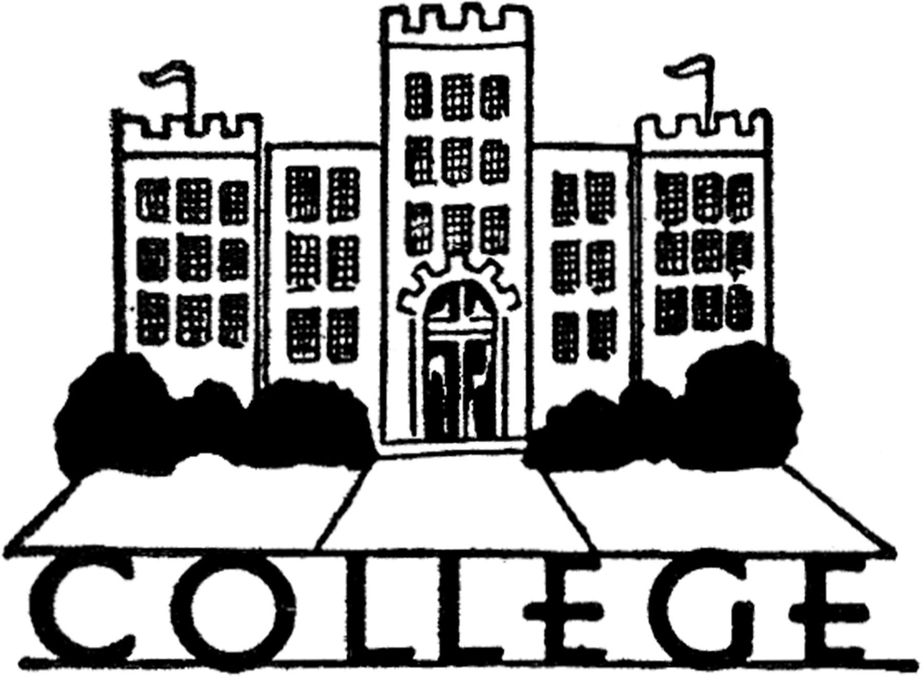 Vintage College Image!   College image, Graphics fairy, Free clip art