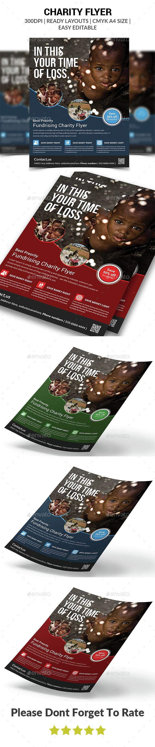 fundraising flyers templates