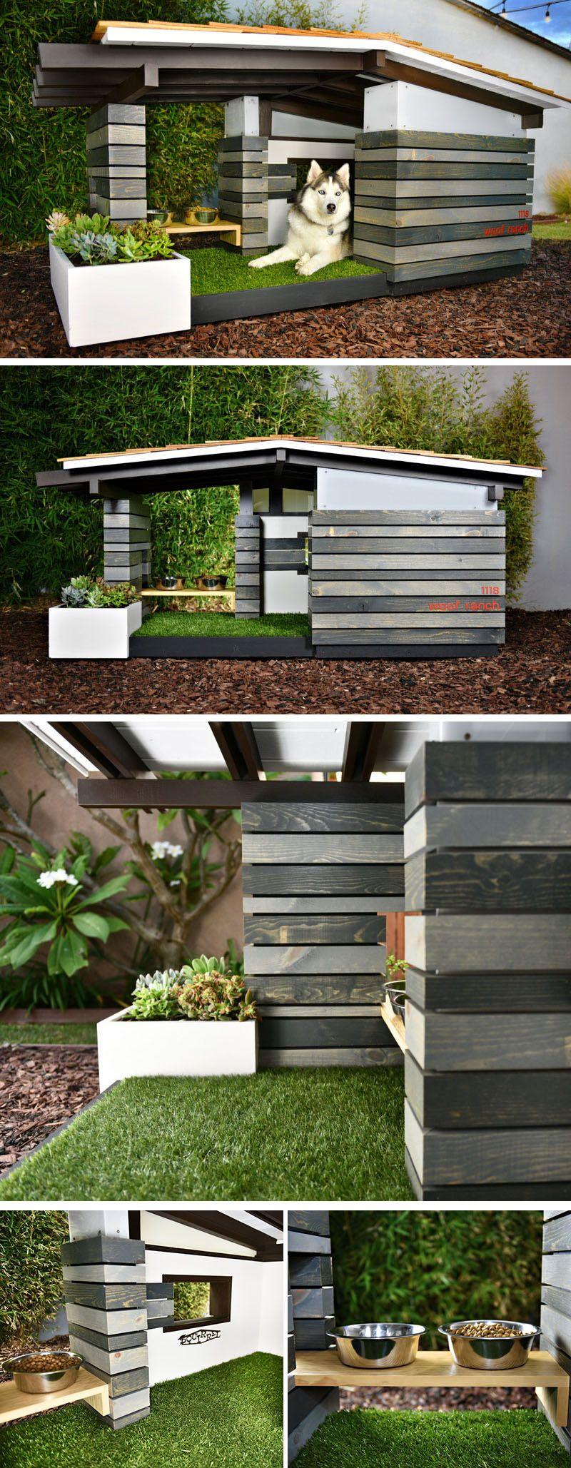 best 25 modern dog houses ideas on pinterest dog house outside