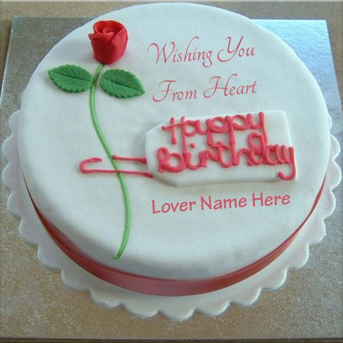 Tremendous Write Name On Happy Birthday Cake For Lover Online Wishes Happy Funny Birthday Cards Online Aeocydamsfinfo