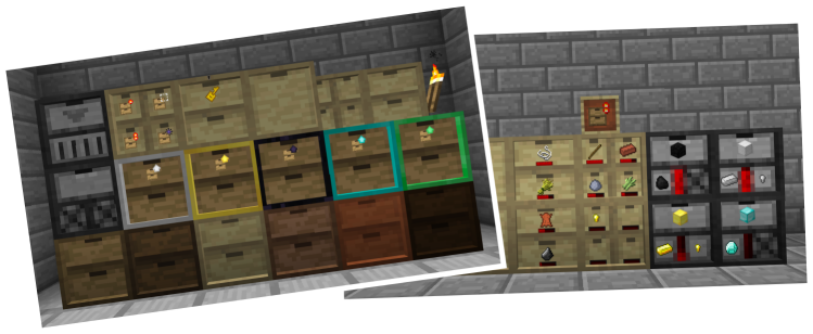 Overview Storage Drawers Mods Projects Minecraft Curseforge Storage Drawers Storage Drawers