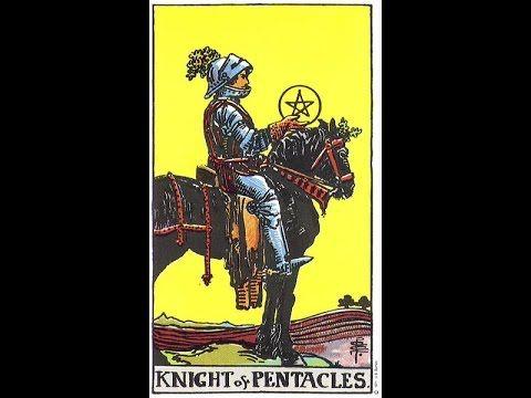 Elementos do Tarot: Carta do Dia do Tarot: Cavaleiro de Ouros (Snapcha...