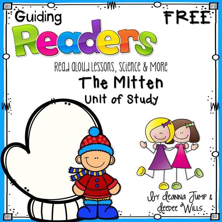 The Mitten by Jan Brett Lesson Plan! FREE week long unit of study - kindergarten lesson plan