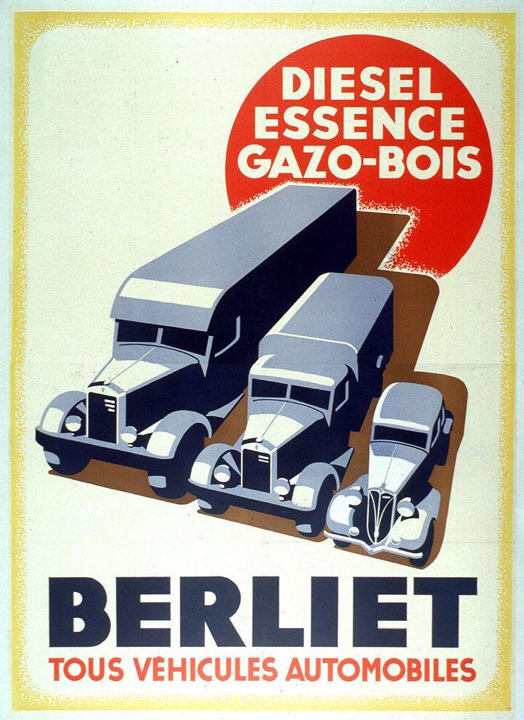 Titre : Berliet, tous véhicules automobiles Commanditaire : Berliet, véhicules automobiles Date : 1940-1945