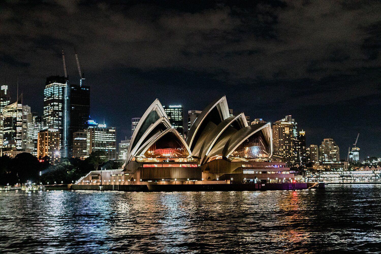The classic Sydney Opera House is Sydney Australia. It's ...
