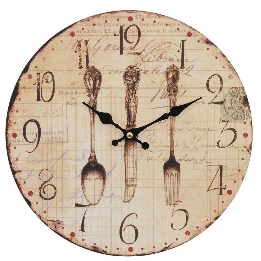 Resultado de imagen para reloj de cocina vintage angela - Relojes para cocina ...