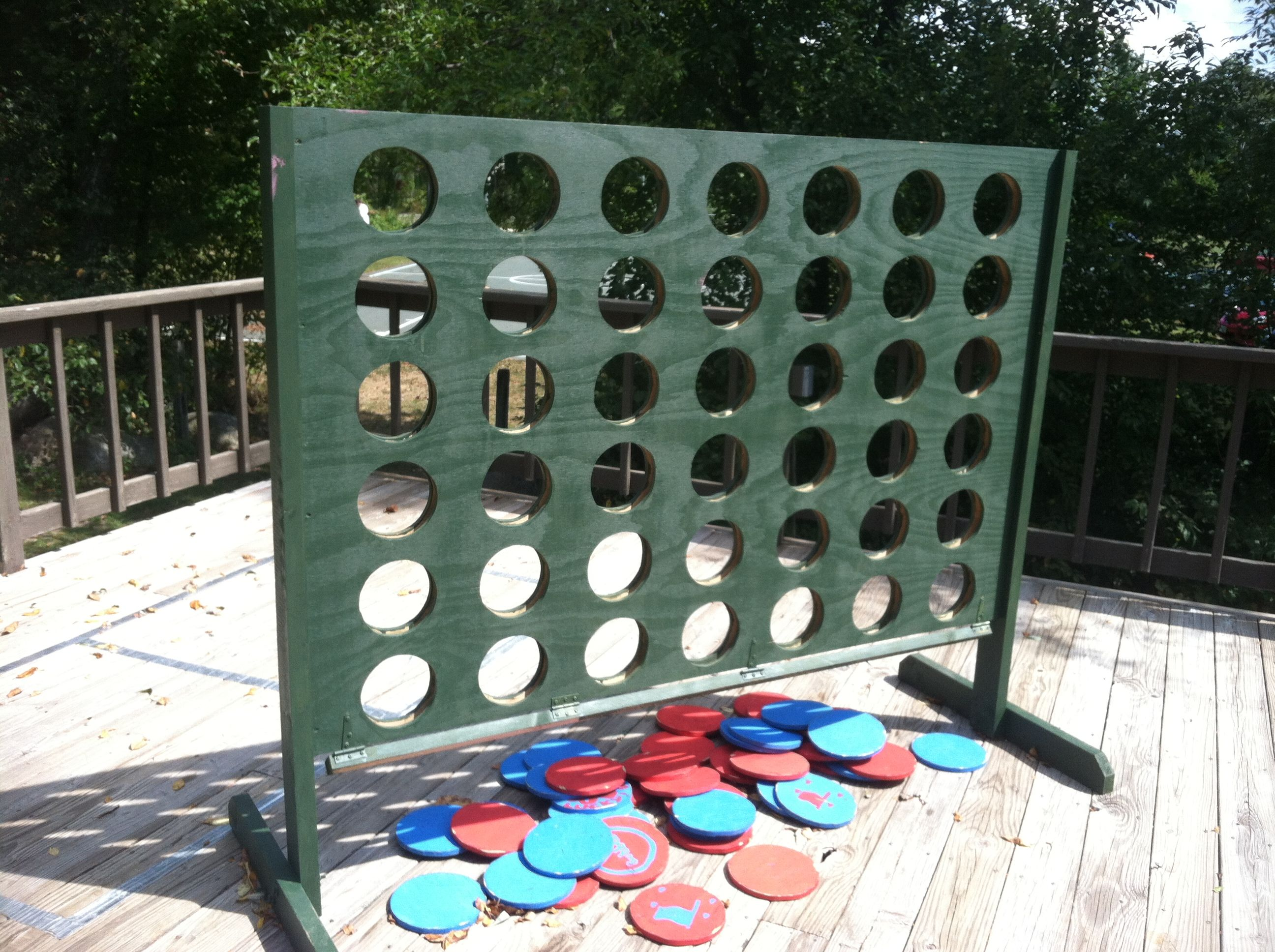 Giant Four Across or Connect Four Game