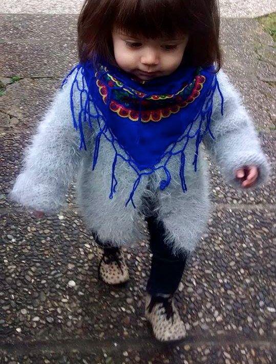 Jolie Baby poupée russe… Louanne  3  BabyFolk  Bleuélectrique ... bc528bbb920