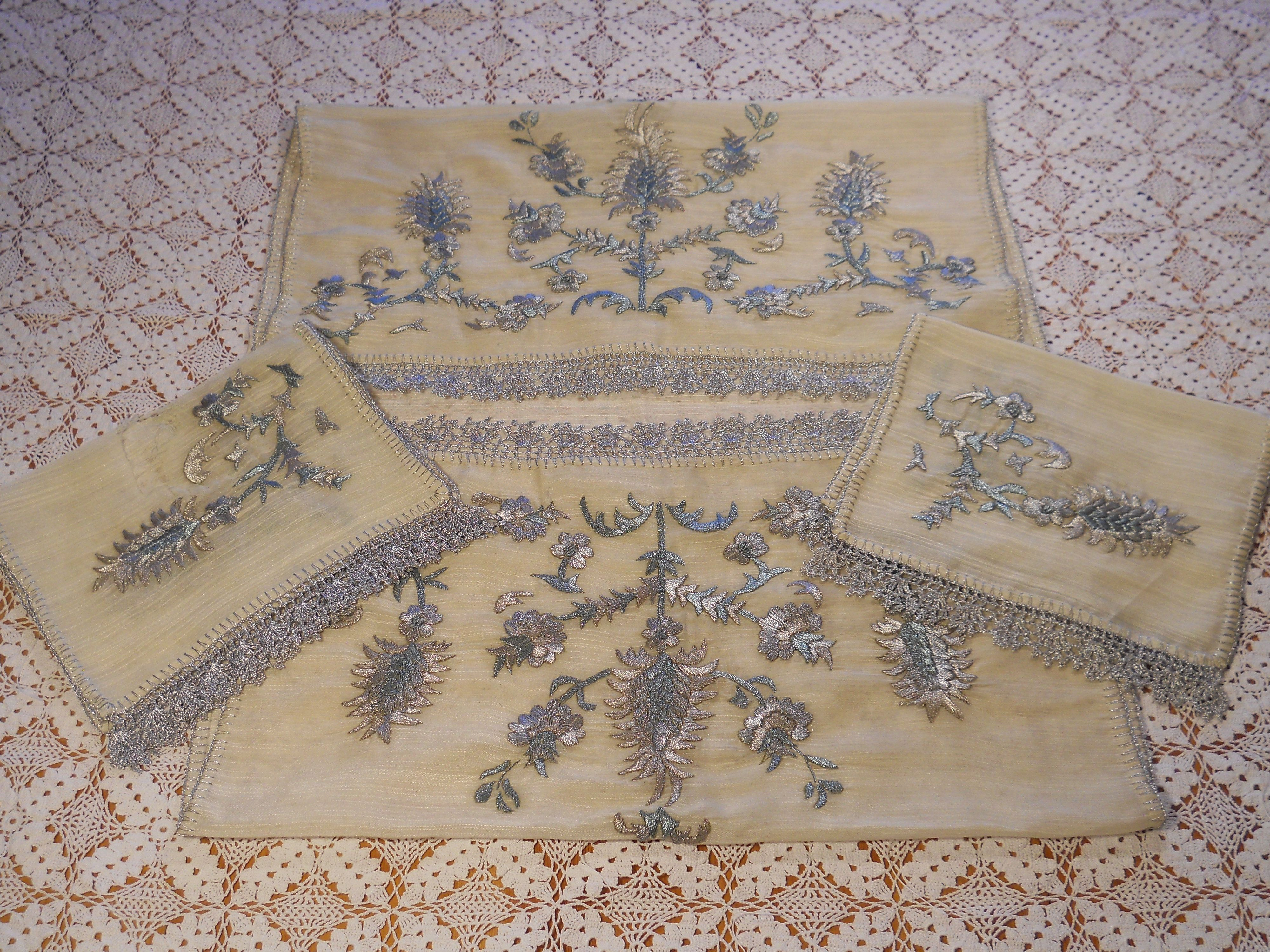 Embroidered Table Runner - Turkey