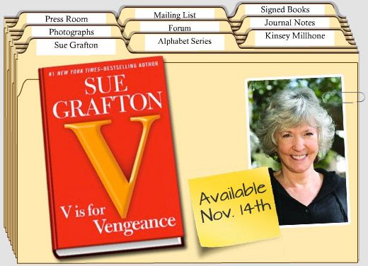 Sue Grafton is such a good writer. I feel like I'm tagging along on Kinsey's adventures. I'm glad I'm not in the line of fire, but I sure enjoy the stories!