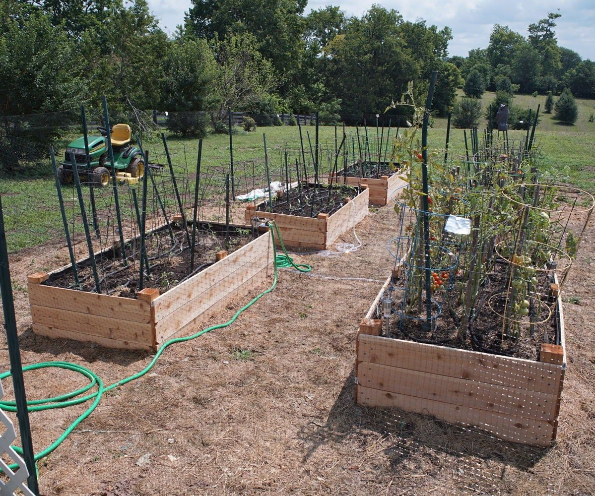 Cedar Raised Garden Bed (With Images)