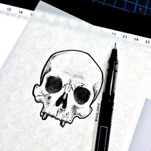 Quick little skull doodle