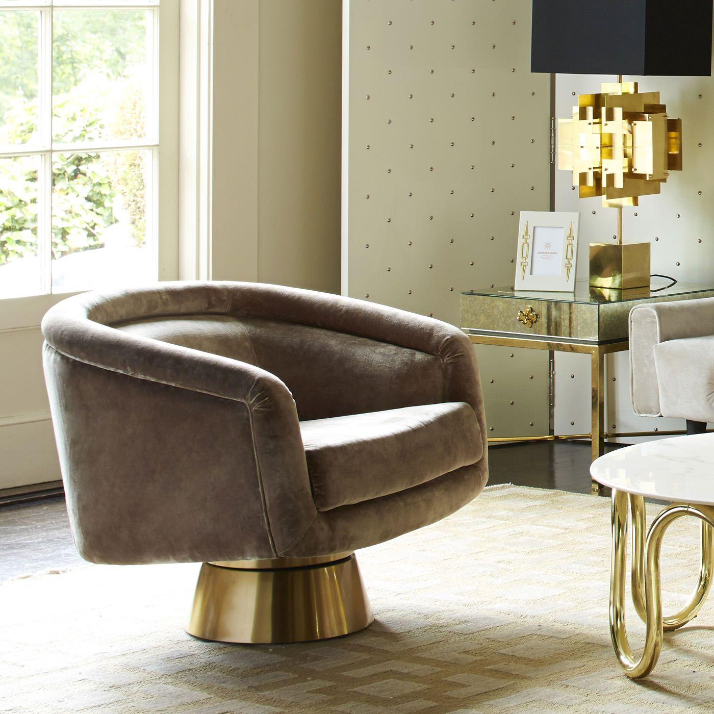 Bacharach Swivel Chair Swivel Chair Upholstered Swivel Chairs