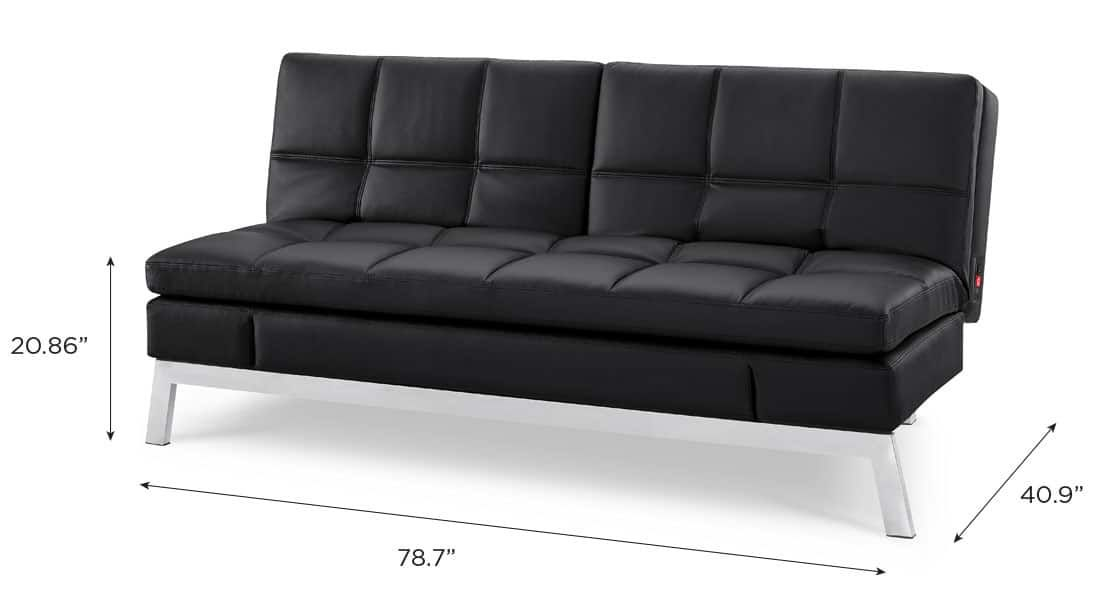 Toggle Convertible Couch Full Size Sleeper Convertible Couch
