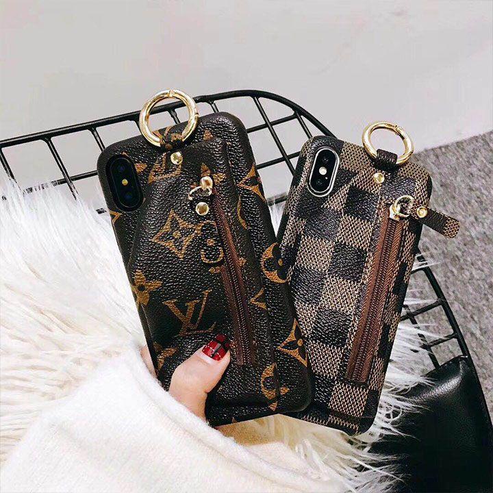 6593cfa52b LV iphoneX iphone8 ジャケットケース 小銭入れ付き ヴィトン iphone7plusカバー モノグラム ダミエ LV iphoneX  iphone8