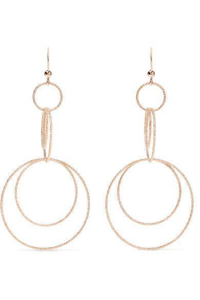 18-karat Rose Gold Earrings - one size Carolina Bucci WOBU0NZqXv