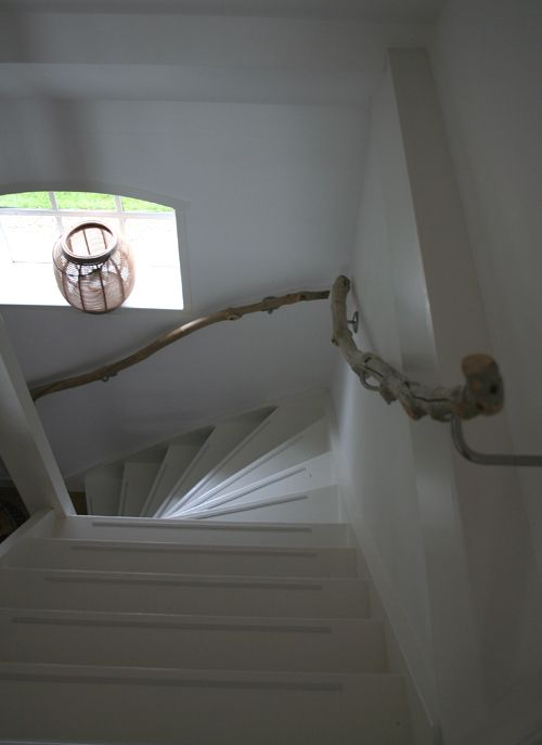 we may use tree branches as railings if we have stairs in the next home.