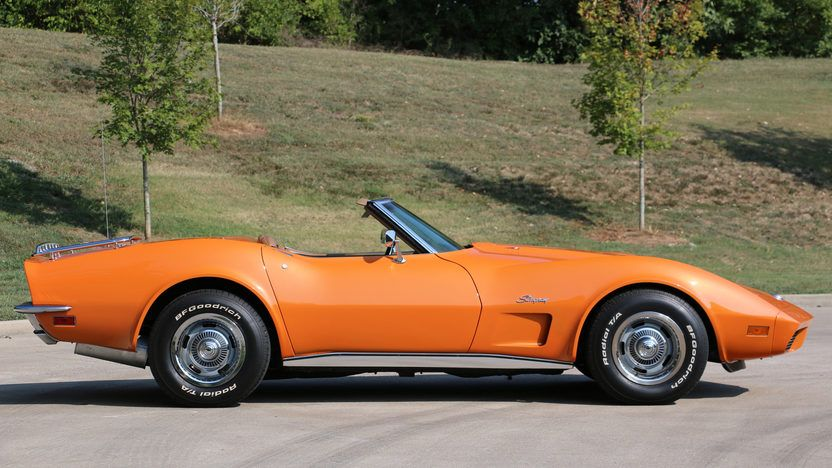 1973 Chevrolet Corvette Convertible 2 Corvette Convertible Chevrolet Corvette Corvette